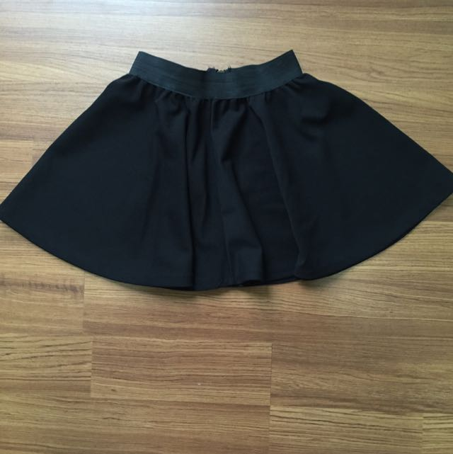 Miss A Black Flare Skirt