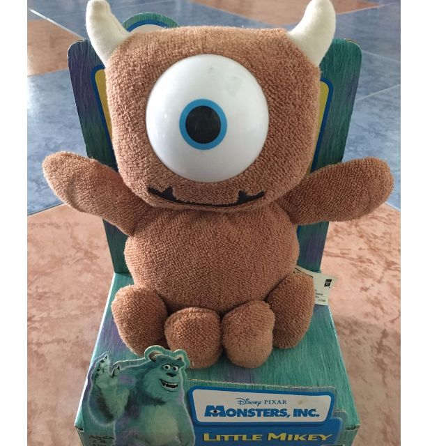 Monsters Inc Little Mikey Plush Toys Games Bricks Figurines