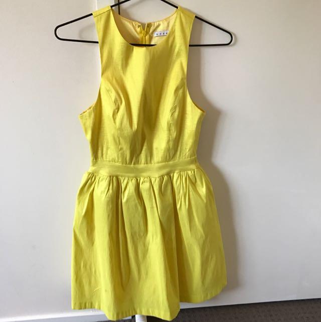 Mossman Yellow Dress