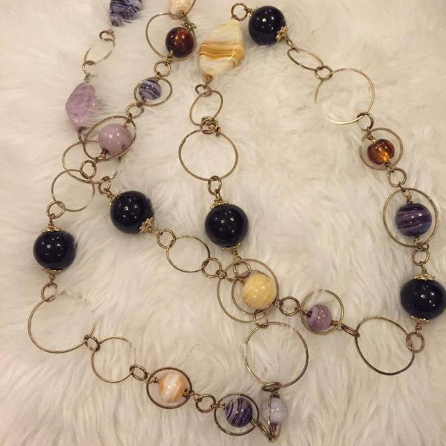Murano Beaded Necklace