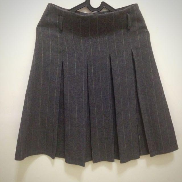Neu Mor - Grey Rimple Skirt