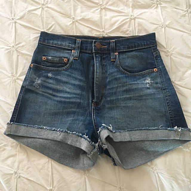 Nobody Denim Siren Shorts Size 8