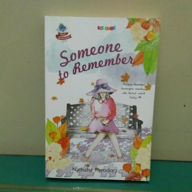 Novel - Someone To Remember
