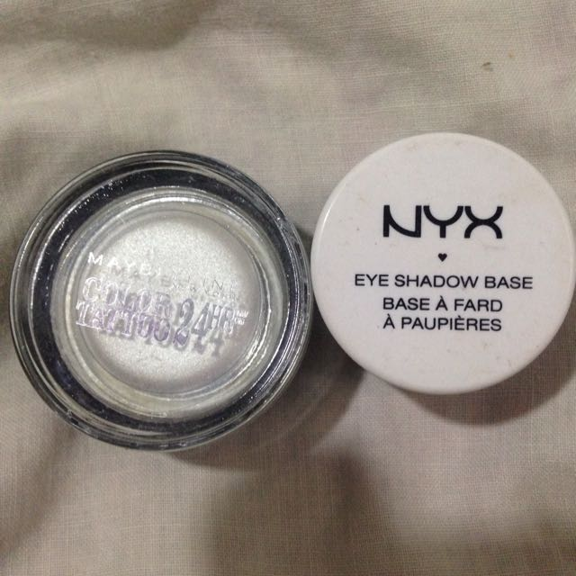 Nyx Eyeshadow Base and Maybelline Color Tattoo