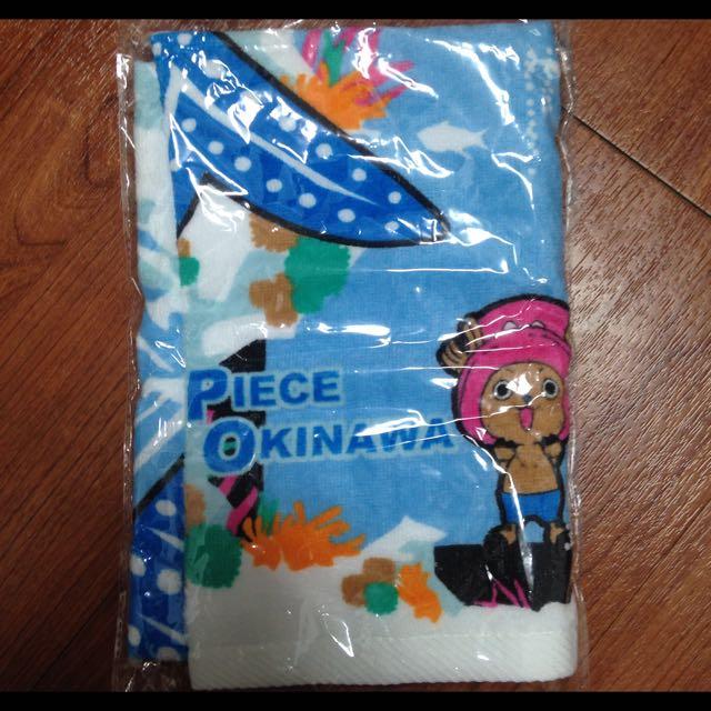 One Piece In Okinawa 沖繩限定 航海王毛巾