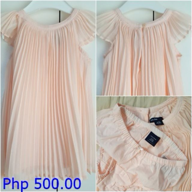 Original Baby GAP Peach Dress