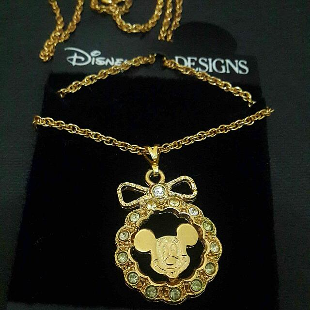 Original Disney Mickey Mouse Necklace