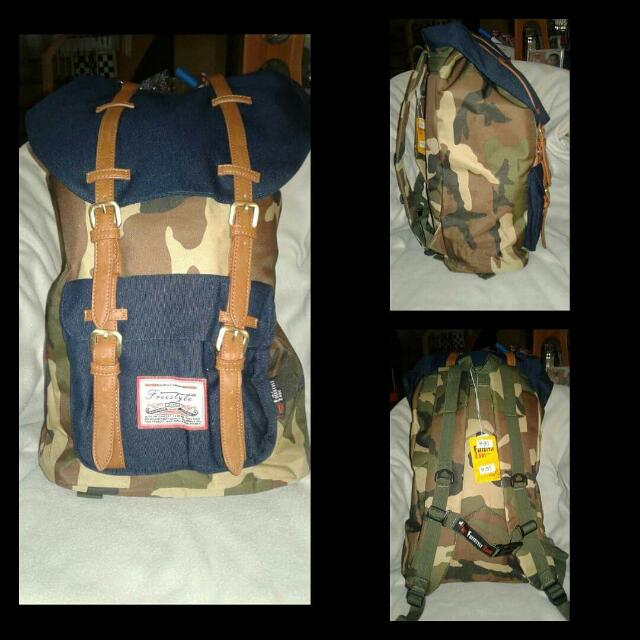 ORIGINAL FREESTYLE CAMOUFLAGE BACKPACK