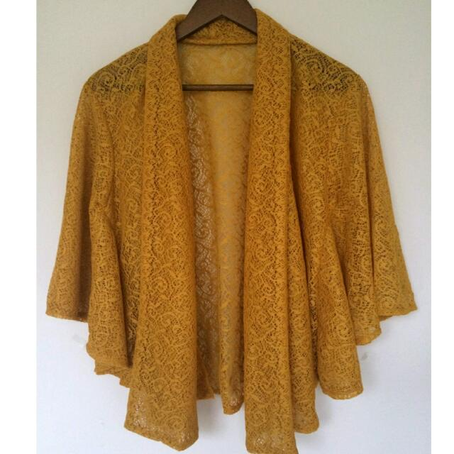 Outer Brokat Yellow