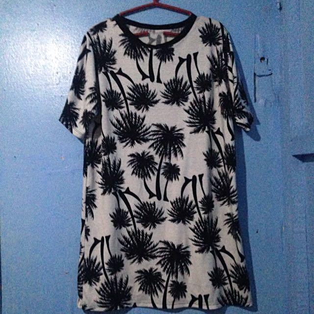 Palm Boxy Dress