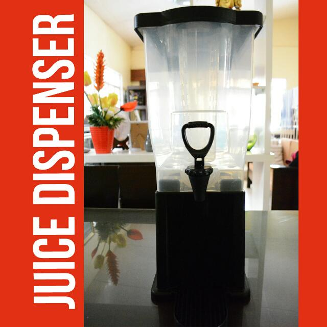 Plastic Juice Dispenser