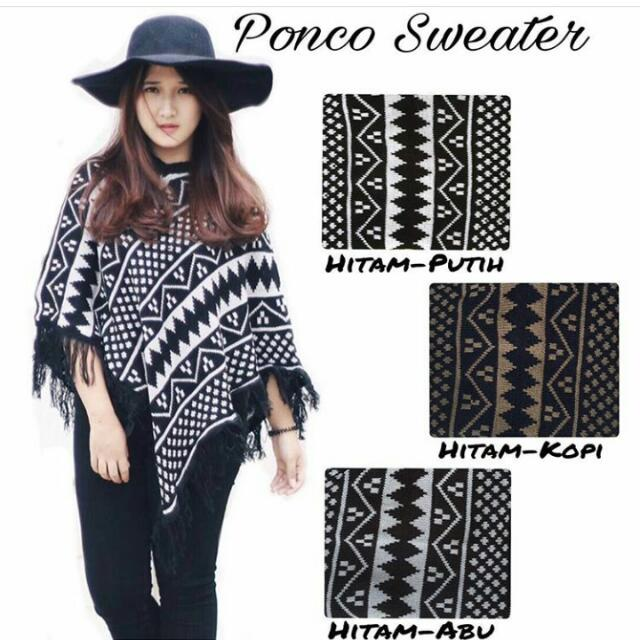 Ponco Sweater