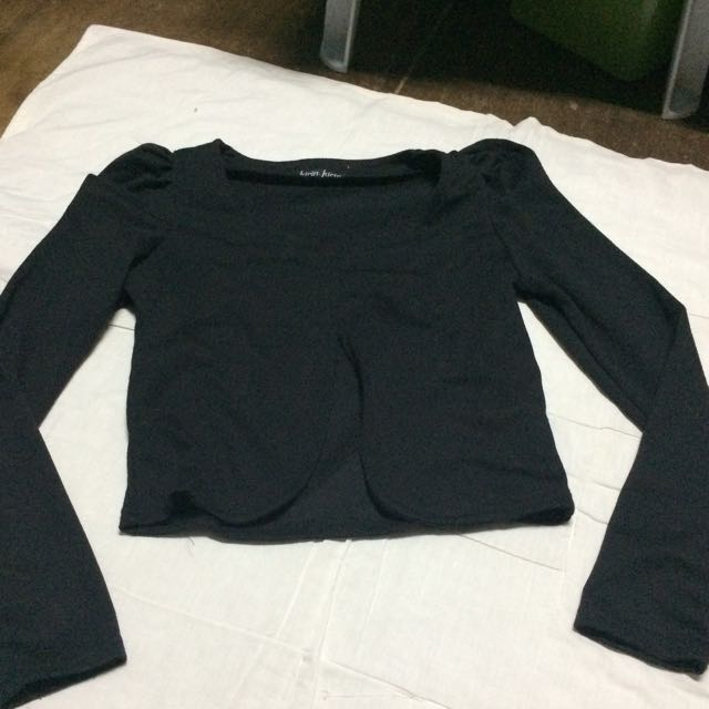 Pre-loved blazer(crop top)