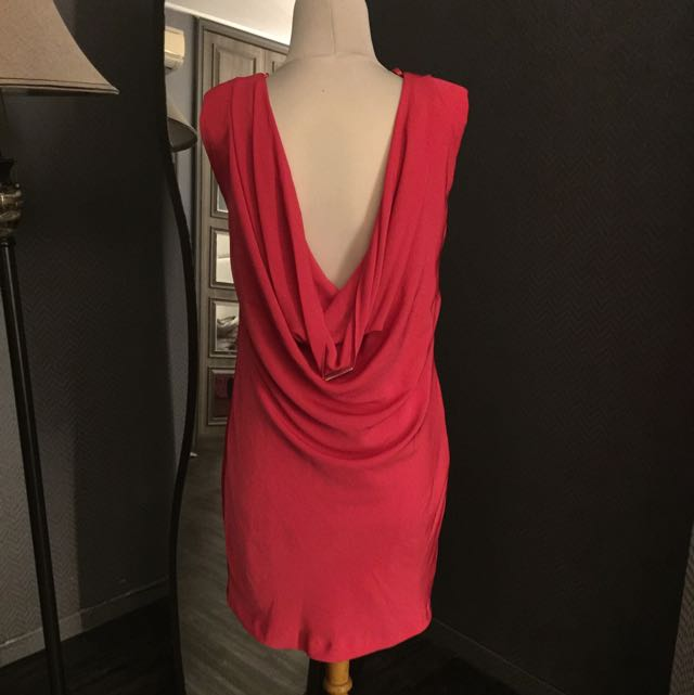 Preloved Zara Backless Dress