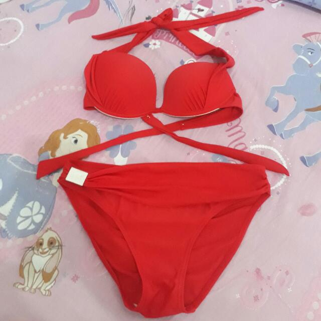💋Red 2 PC Swimsuit 💋