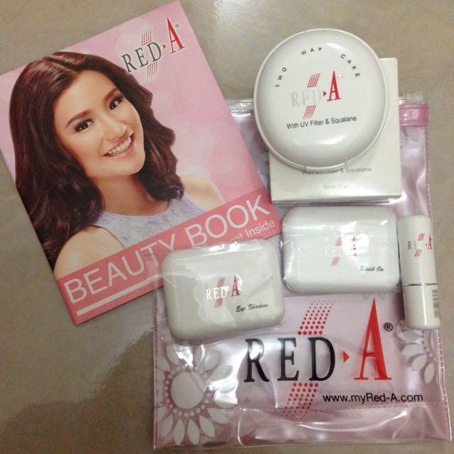 Red A Makeup
