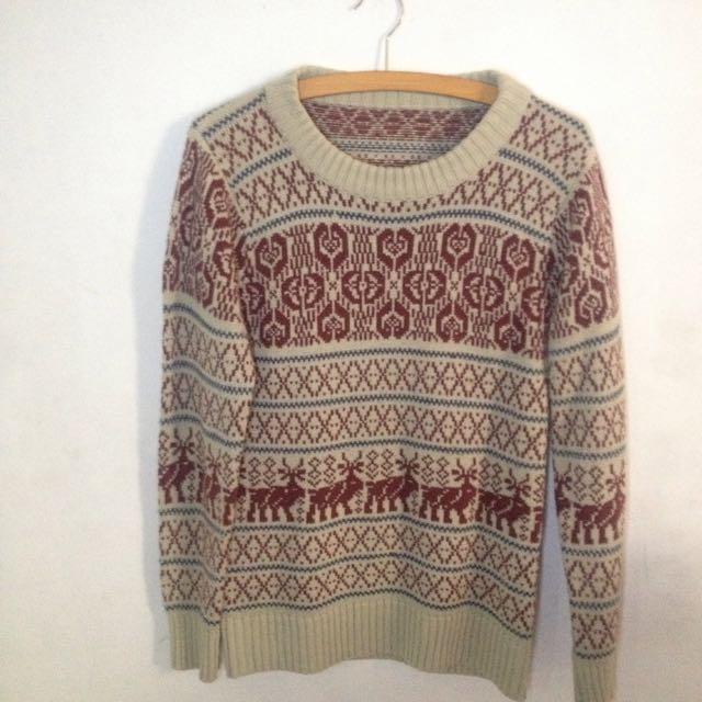 Skyline Sweater Rajut