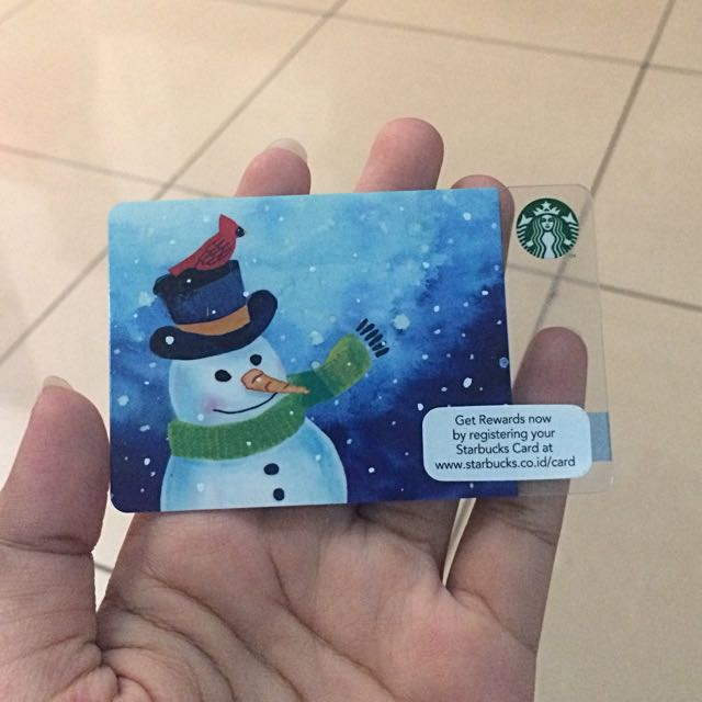 Starbucks Snowman Limited Edition