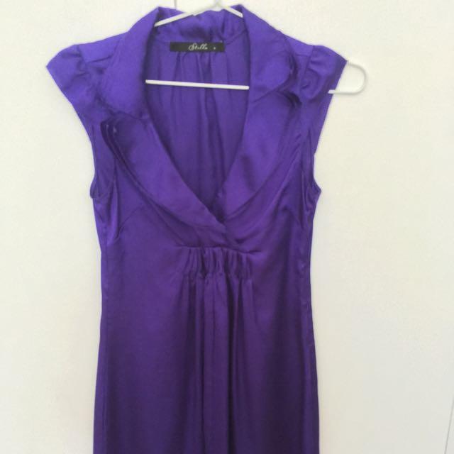 Stella Cocktail Dress Purple