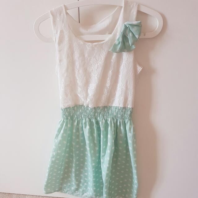 Summer Laced Chiffon Dress