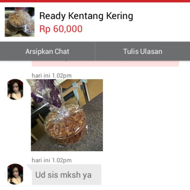 Testi Kentang Kering By Grab ^_^