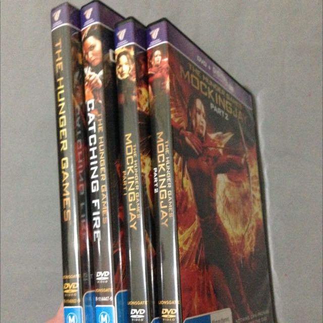 The Hunger Games DVD Set