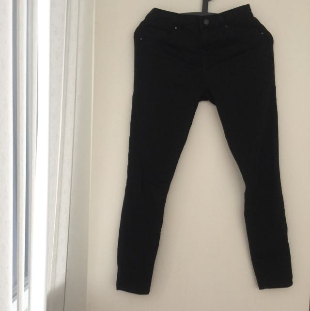 TOPSHOP High Waist Skinny Jeans 2