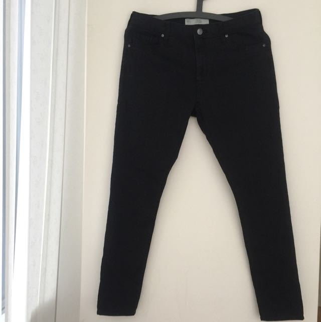 TOPSHOP-High waist skinny Jeans