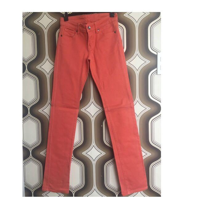 UNIQLO Tangerine Pants