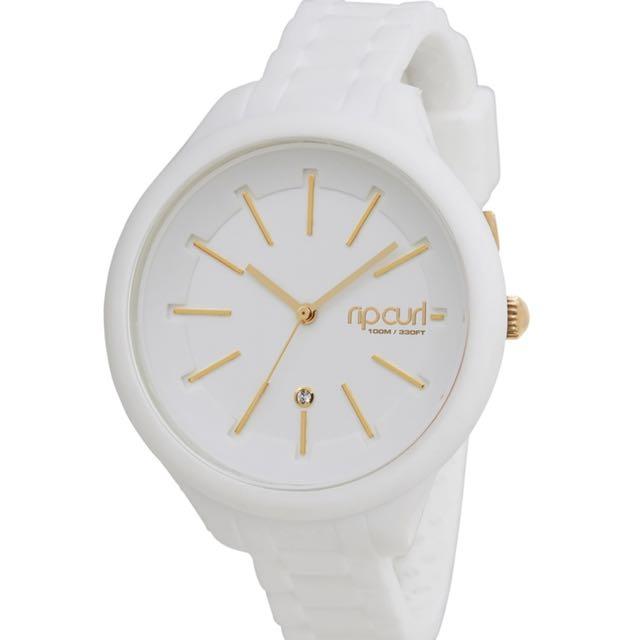 White Waterproof Ripcurl Watch
