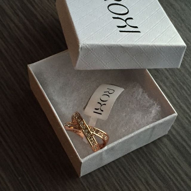 X Roxi Rose Gold Ring