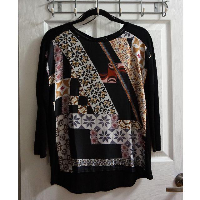ZARA Printed Shirt (Size M)