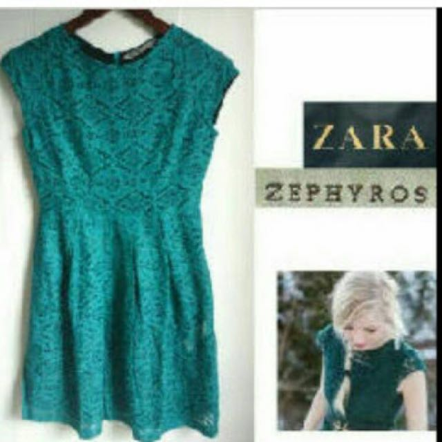 Zara Zephyros Lace Dress