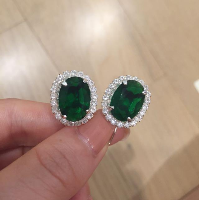 zircon earring