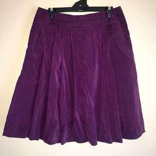 DAVIANTTE Women's Pleated Skirt
