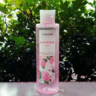 RESERVED 🆕 Mamonde Rose Water Toner 250ml