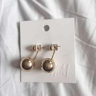 H&M Brand New Gold Earrings