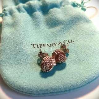 Tiffany Twist Knot Earrings - Sterling Silver