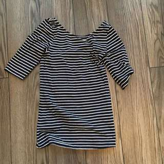Babaton Top - High Neck Low Back Size Small