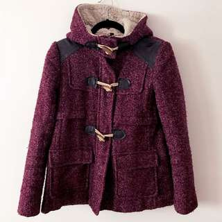 Topshop Toggle Wool Coat
