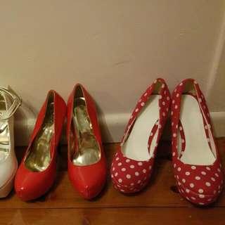Ex stock heels