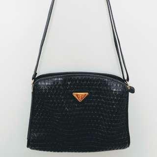 """Vintage """"YSL"""" black bag"""