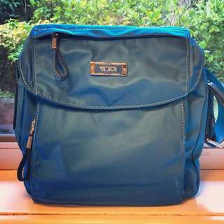 Tumi Blue Bag