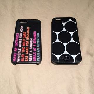 Kate Spade Iphone 5(s) Cases