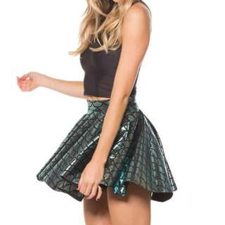Blackmilk Clothing Mermaid Cheerleader Skirt