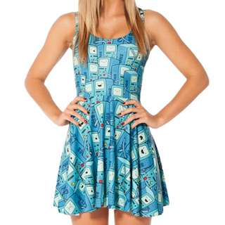 Blackmilk Clothing BMO Scoop Skater Dress