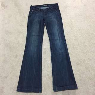 7 For All Man Kind Big Bell Jeans -26
