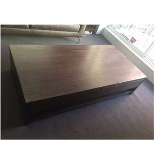 Nick Scali Tasmanian Oak Coffee Table