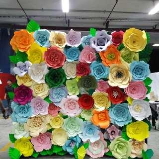 GIANT PAPER FLOWER FOR BACKDROP