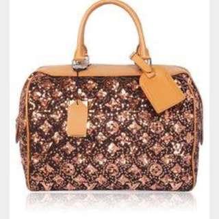 Louis Vuitton Limited Edition Sequin Bag Large Size